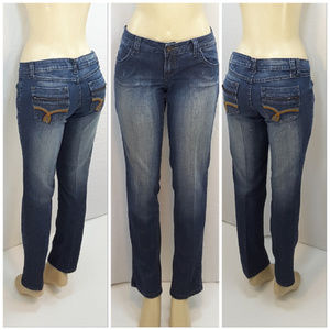 ZANA JEANS, Straight Leg Denim Jeans, size 13